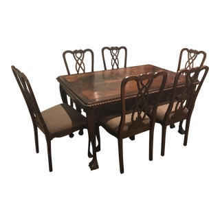 Vintage Claw Foot Leg Dining Set