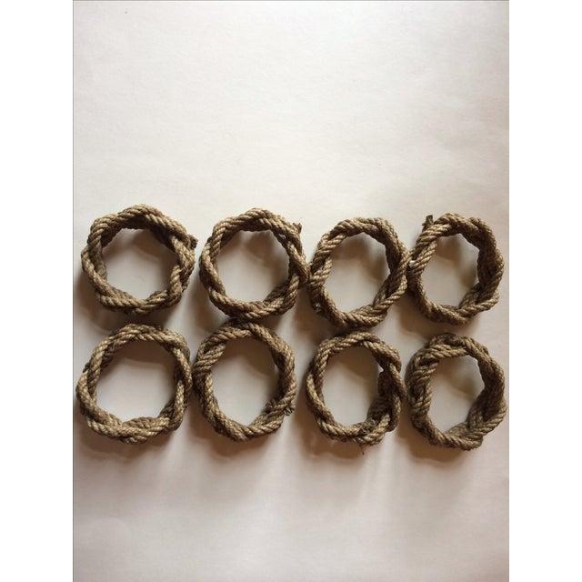 Nautical Knot Rope Napkin Holders - Set of 8 - Image 4 of 4