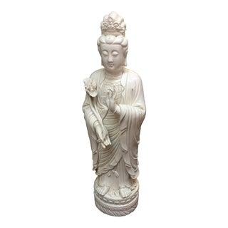 Large Blanc De Chine Quan Yin