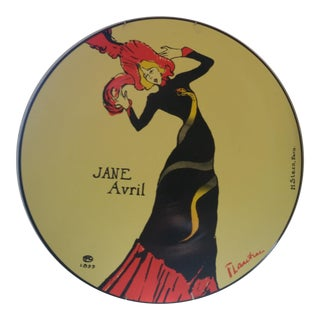 Jane Avril French Plate