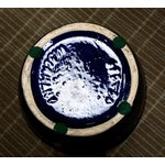 Image of Scheurich Keramik Vintage Blue Fat Lava Floor Vase