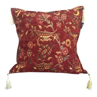Authentic Red Kilim Pillow Cover