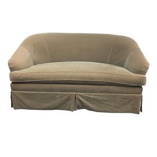 Duralee Olive Green Sofa