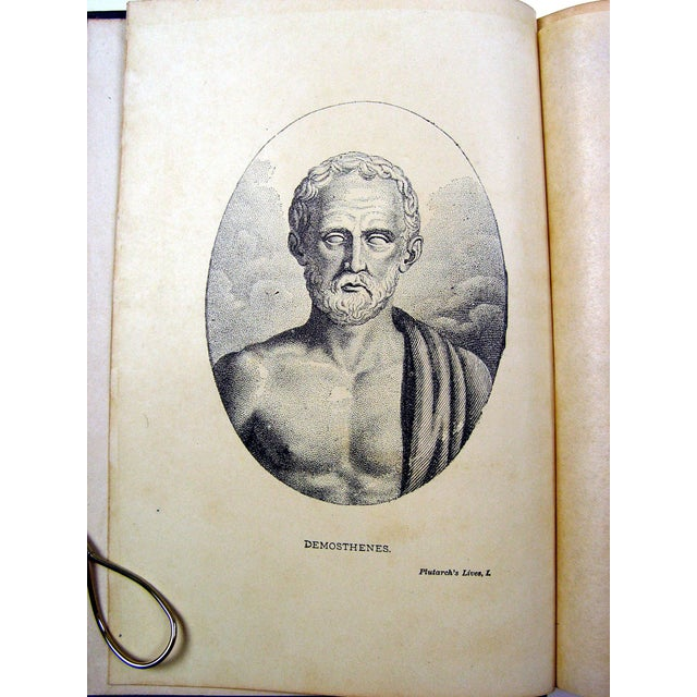 1900 Plutarch's Lives Books- A Pair - Image 4 of 5