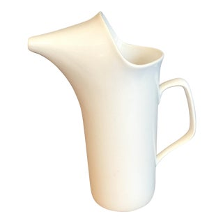 White Schmid Small Tackett Pitcher