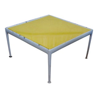 Richard Schultz Yellow Patio Table