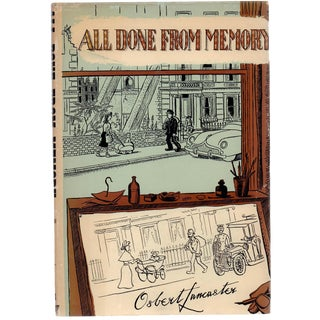 'All Done From Memory' Book by Osbert Lancaster