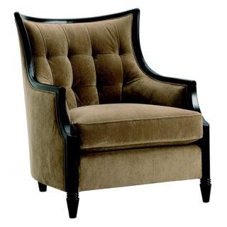 Velvet Tufted Club Chair