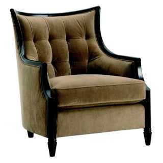 Velvet Tufted Club Chair