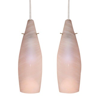 Pair of Italian Pendant Lights