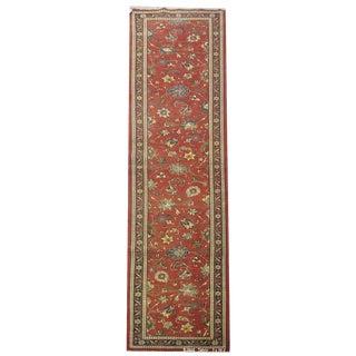 Vintage Persian Tabriz Rug - 3′ × 16′2″