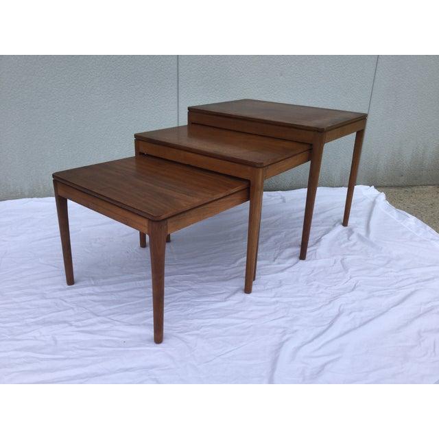 Image of 1960's Modern Drexel Declaration Nesting Tables