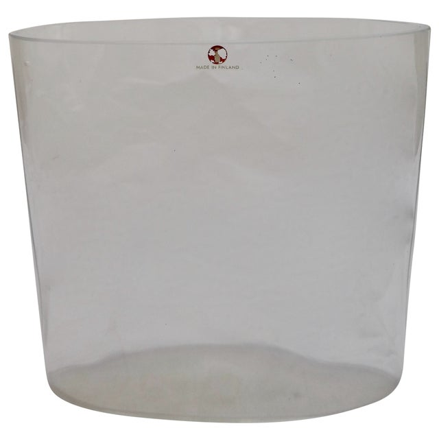 Signed Tapio Wirkkala Glass Vase From Finland - Image 1 of 8