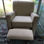 Image of Classic Glider Recliner Club Chair