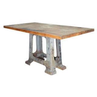 Vintage Solid Maplewood Table