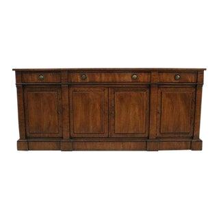 Fruitwood Banded Sideboard