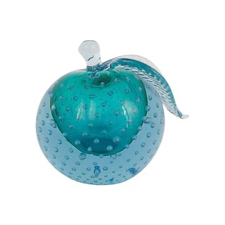 Murano Glass Apple Bookend