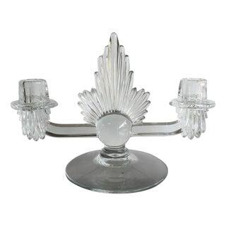 Fostoria Art Deco Candlestick