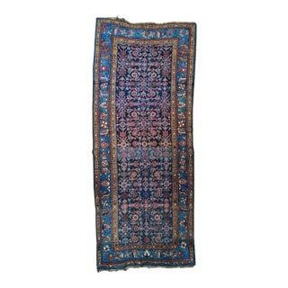 Antique Persian Hand Woven Runner- 3′10″ × 9′7″