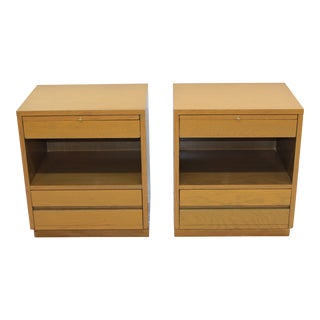 Sligh Mid-Century Modern Nightstands - A Pair