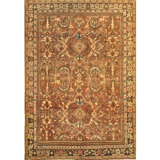 """Pasargad N Y Antique Persian Mahal Hand-Knotted Rug - 6'9"""" X 9′10″"""