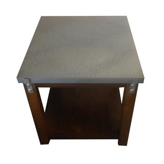 Square Metal Italian Table