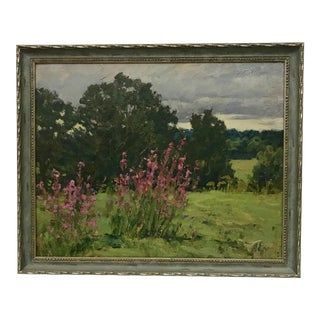 Impressionist Russian Oil Painting by Alexei P. Yeryomenko