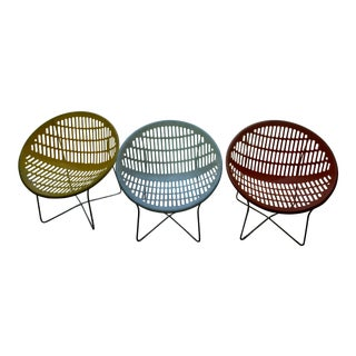 Fabio Fabiani and Michelange Panzini Solair Chairs - Set of 3