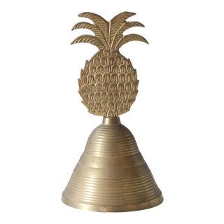 Vintage Brass Pineapple Bell