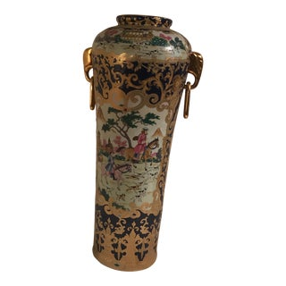 Antique Chinese Umbrella Urn