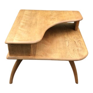 Heywood Wakefield Corner Side Table