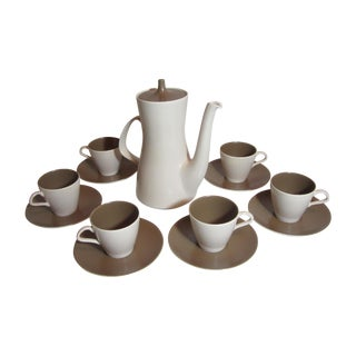 Mid Century Coffee Service - 13 Pieces