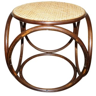 Michael Thonet Secessionist-Style Stool