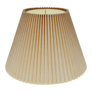 Vintage Stiffle Pleated Shade