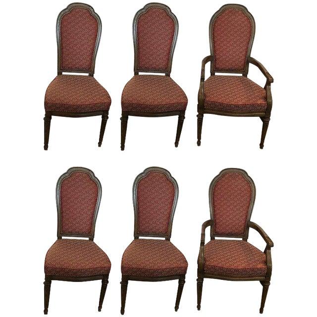Henredon Mid Century Modern Dining Chairs Set Of 6