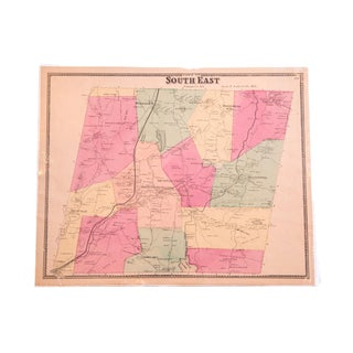 Antique Beers SouthEast Putnam County, NY Map