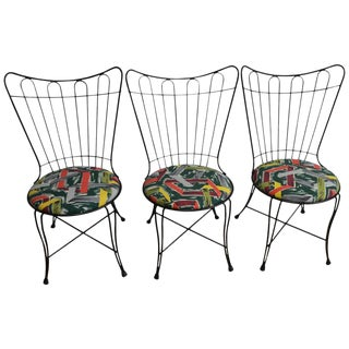 Salterini Vintage Patio Chairs - Set of 3