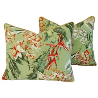 Tropical Paradise Pillows - A Pair