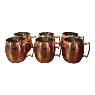 Moscow Mule Copper Mugs - Set of 6