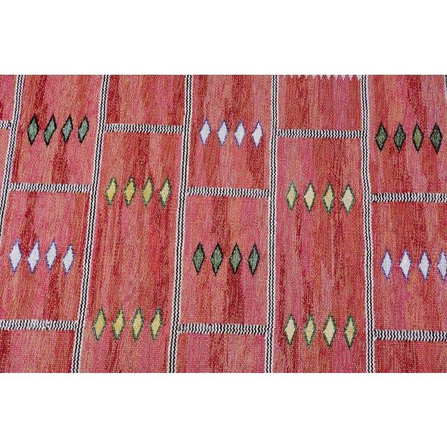 Vintage Carl Dagel Flat-Weave Swedish Carpet - Image 3 of 8