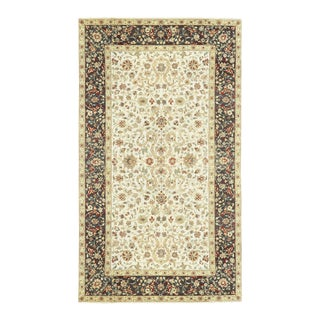 Black & Cream Traditional Hand Woven Rug - 8'1 X 14'