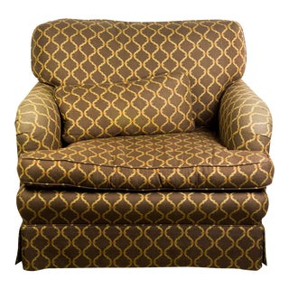 Baker Chocolate Brown Armchair