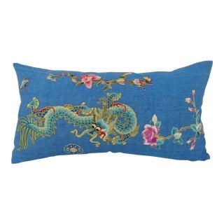 Chinese Dragon Opera Robe Pillow