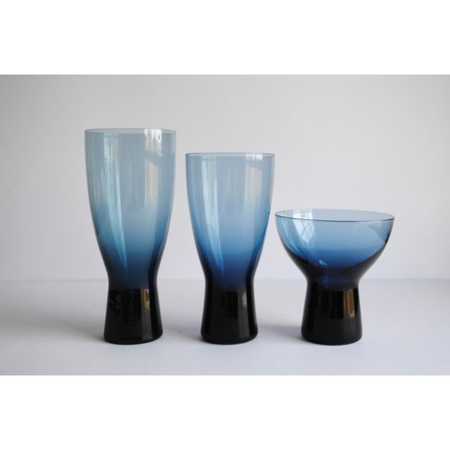 "Mid-Century 7"" Highball Glasses - Set of 6 - Image 6 of 6"