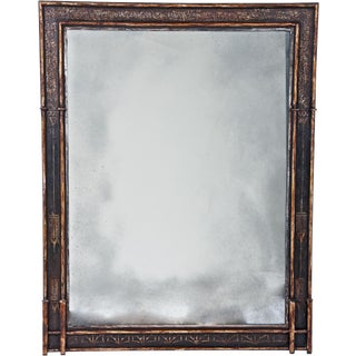 20th Century Painted Mirror