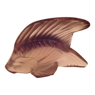 Lalique Angel Fish Mauve
