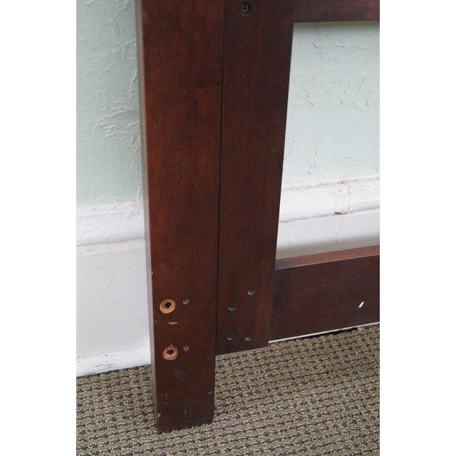 Statton Solid Cherry Queen Size Headboard - Image 10 of 10