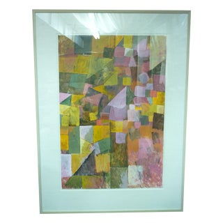 Large Modern Abstract Painting by Haynes