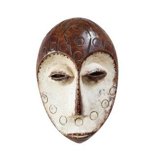 Carved Wood African Lega Mask