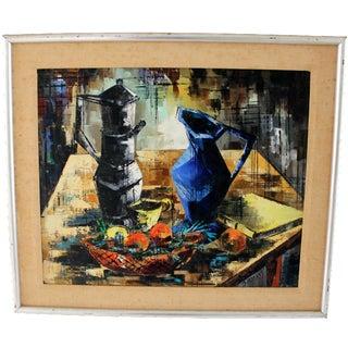 Jean Amiot Mid-Century Modern Still Life Painting
